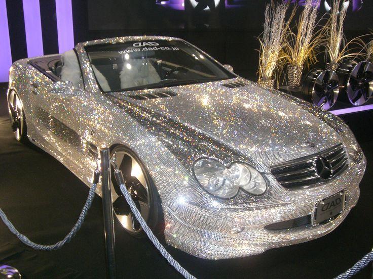 Swarovski covered Mercedes oh my