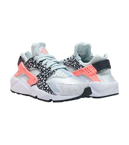 Mens Womens Nike Air Huarache Leopard CreamColored And Black Outlet