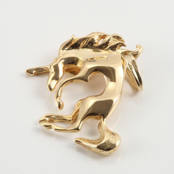 【中古】K18 馬 ペンダントトップ/新品同様・極美品・美品の中古ブランド時計を格安で提供いたします。
