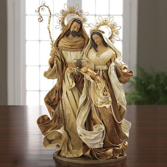 Holy Family Admires Jesus Nativity Religious Christmas: 17 Best Images About Christmas! The Nativity On Pinterest