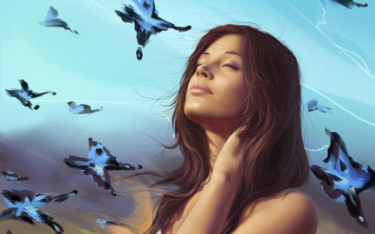 3D_Graphics_Girls_butterfly