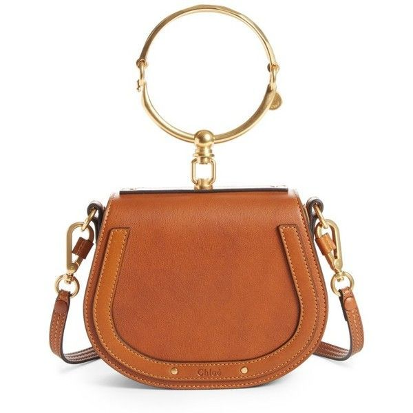 002b199af6 Women s Chloe Small Nile Bracelet Leather Crossbody Bag (20.653.750 IDR) ❤  liked on Polyvore featuring bags