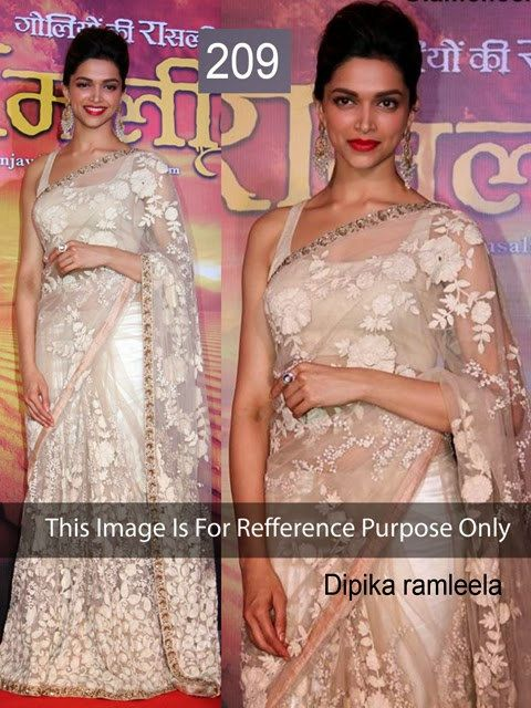 Bollywood Replica Sari Indian Designer Wedding Bridal by loootlo