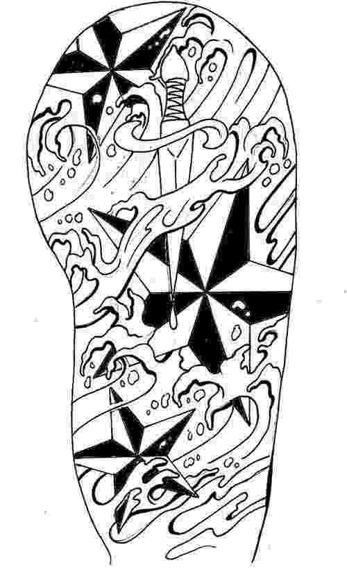 Half Sleeve Tattoo Drawings | Arm Tattoo Designs New ...