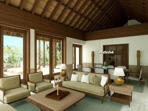Modern Tropical Interior Design   Interior Design   Tropical Places Are  Considered To Be Comforting And Relaxing That Is Why Many People Want To  Use A ...