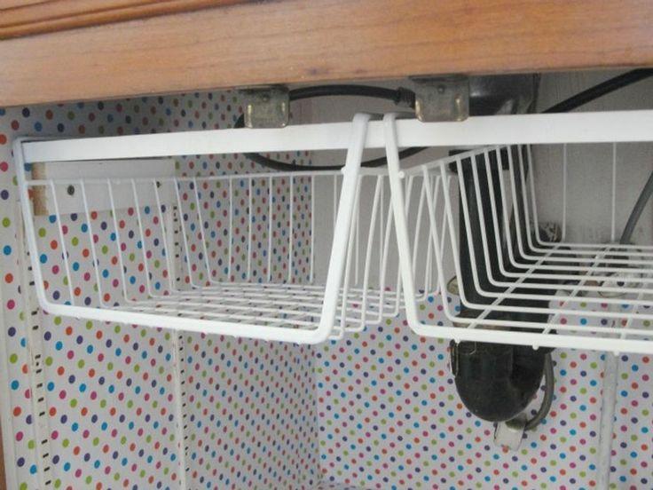 Rv Camper Hacks Kitchen Storage Solutions 9