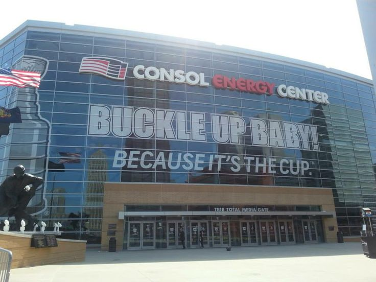"""Consol Energy Center is ready for the 2014 Stanley Cup Playoffs - """"Buckle Up Baby""""!!"""