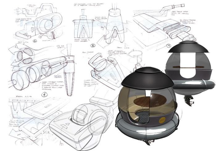 Sketch by Jason Begin at Coroflot.com #sketch #product #design