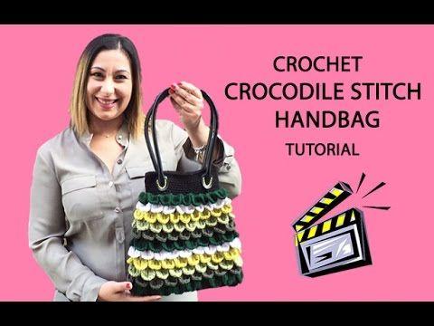 Crochet Crocodile Stitch Bag Tutorial