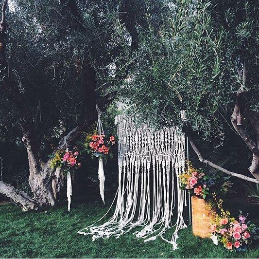 Macramé Matters | the Knotted Wedding Trend we (Still) Heart!