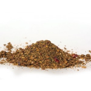 mélange taboulé : oignon + piment doux + poivron + menthe douce + ail + persil + poivre noir + sel