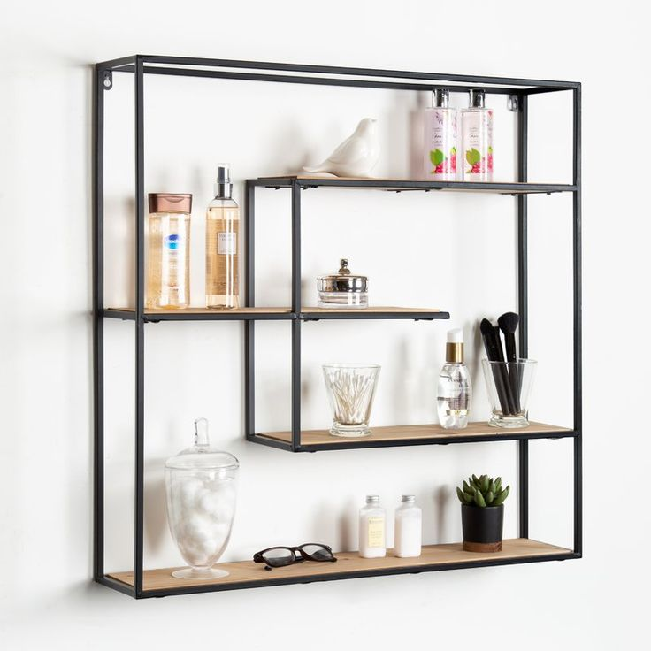 daxton large decorative floating wall shelves birch lane on wall shelves id=99639