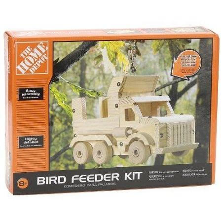 The Home Depot Wooden Bird Feeder Kit Truck