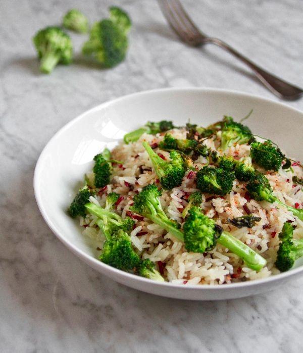 riz basmati, sauvage brocolie Resized