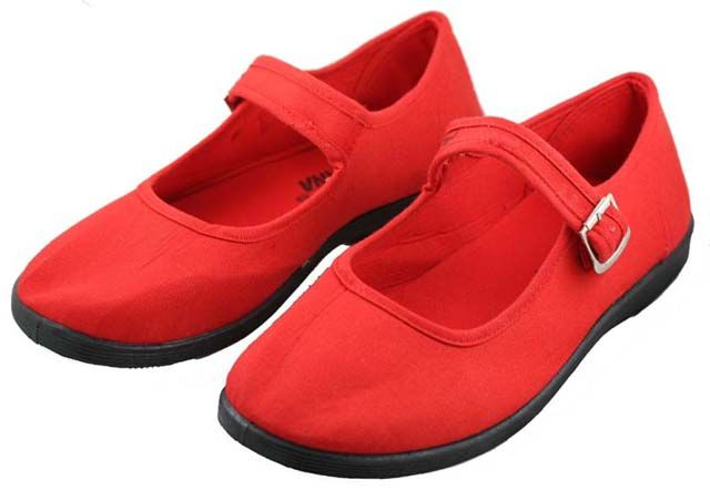 Red Hat Society Clothing   Red Mary Jane Shoes for Society Ladies SS117R   eBay