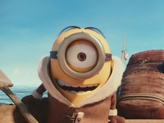 Synopsis: Despicable Me's minions get their very own spin-off in this summer tent-pole from Universal Pictures. Pierre Coffin and Kyle Balda co-direct this animated comedy featuring the voices of Sandra Bullock and Jon Hamm. ~ Jason Buchanan, Rovi