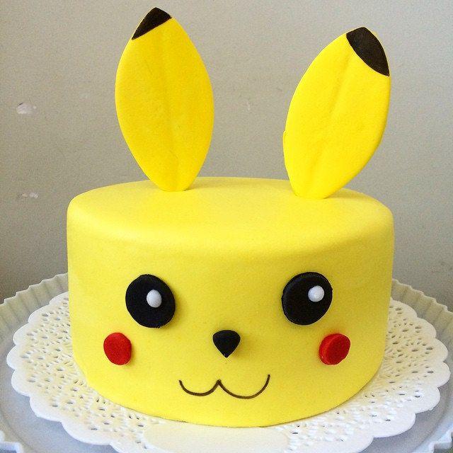 La torta de Pikachu para Nico! #pokemon #pikachu #geek #ga… | Flickr