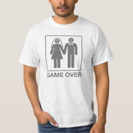 Game Over Groom Shirt - tap to personalize and get yours