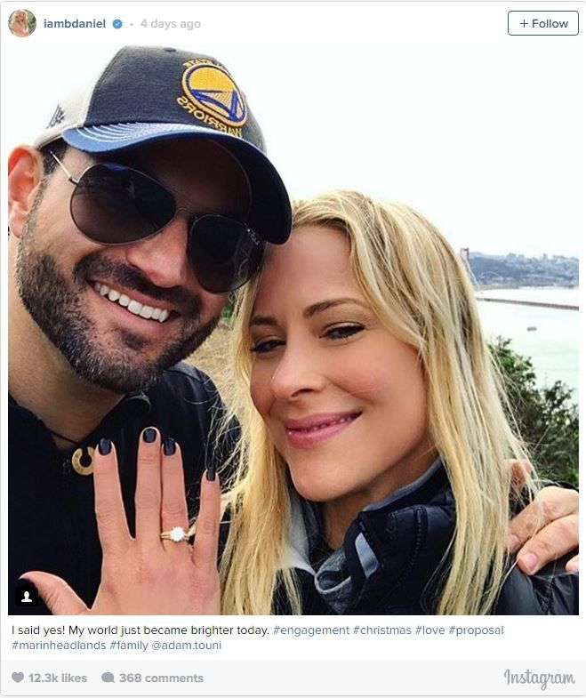 """Life got significantly sweeter for one '90s star this holiday season. Sweet Valley High actress Brittany Daniel announced her engagement to boyfriend Adam Touni via Instagram on Christmas Day."" via The Knot"