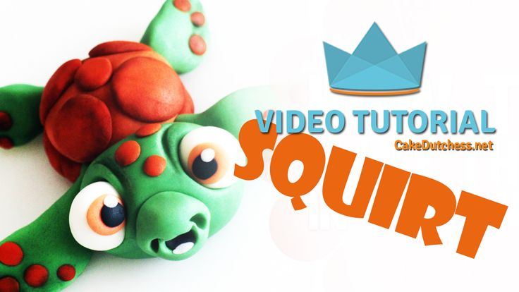 Tutorial - How to make Squirt from Finding Nemo