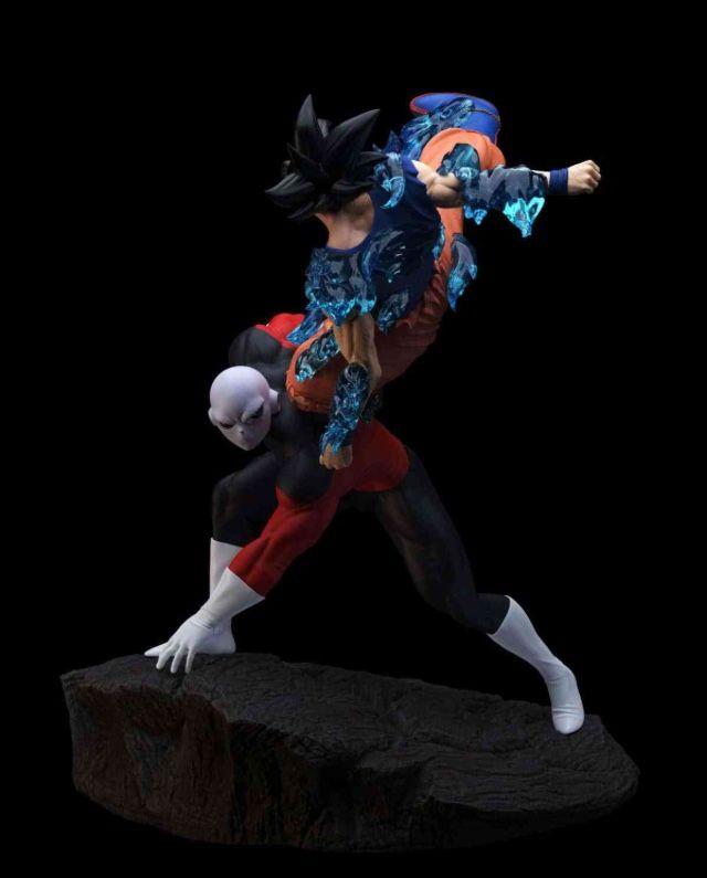 Ofubito Dragon Ball Super Ultra Instinct Goku Vs Jiren Resin Statue Dragon Ball Dragon Ball Goku Dragon Ball Super