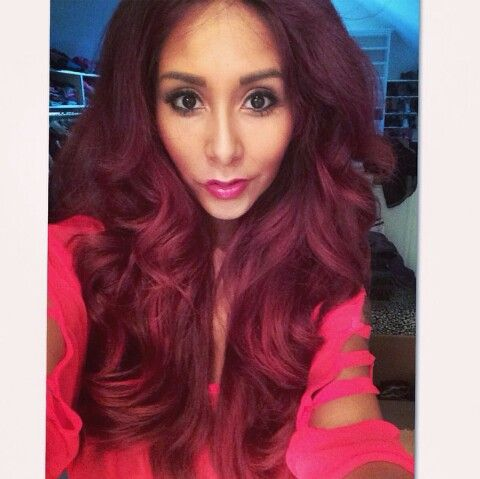 Snookie's red hair! Fabb