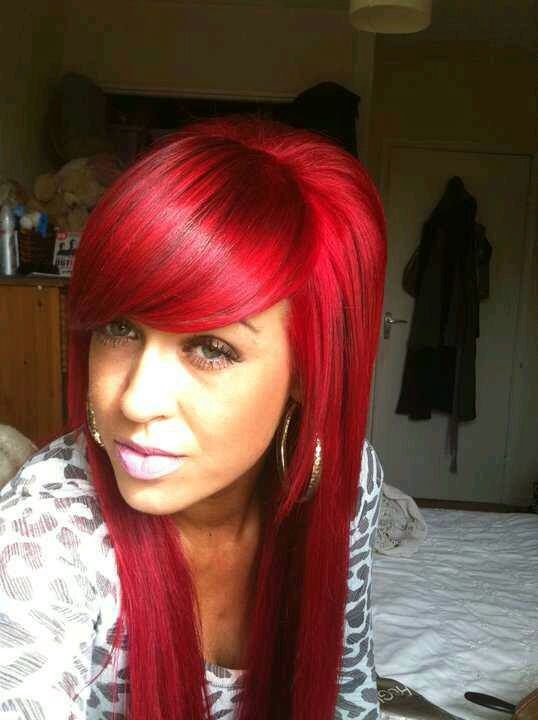 Bright Red Copper Hair