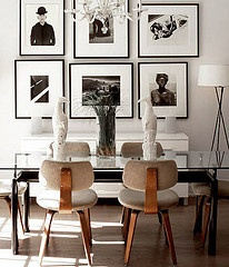 james stephoto (coco+kelley) Tags: design interior room diningroom decor photowall midcentury neutral