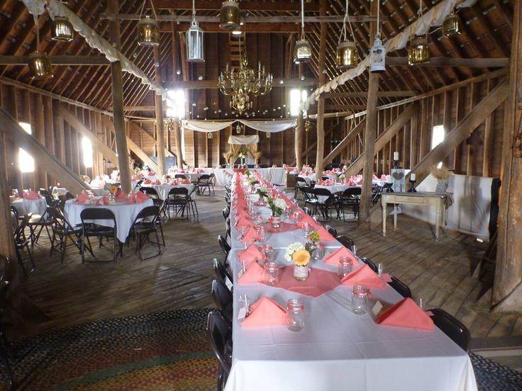 Minnesota Wedding Ceremony Locations: Reception In Hayloft - Brickhouse Getaway