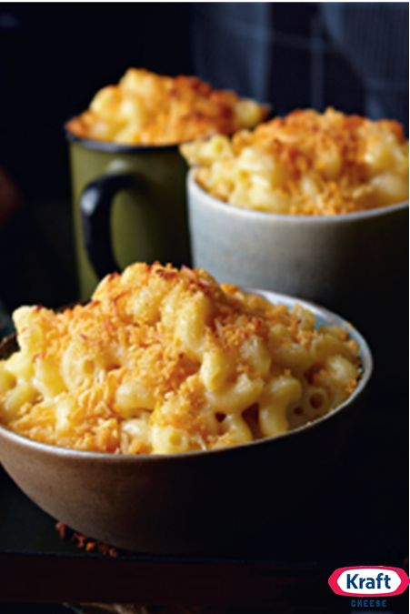 ... Tops, Cheese Shredded, Creamy Mac, Cheese Macaroni, Add Crumble