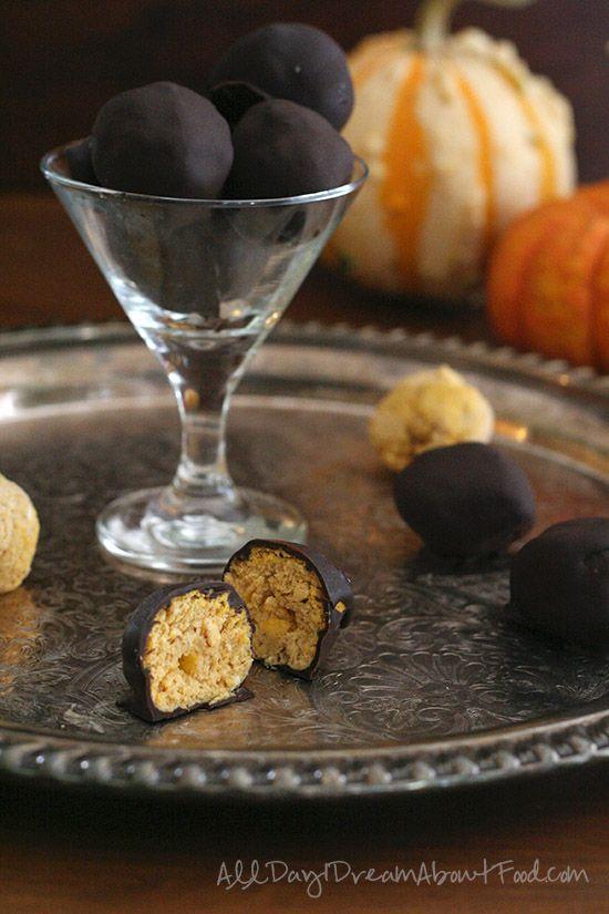 ... Pumpkin Truffles, Pumpkin Cheesecake, Cheesecake Truffles, Healthy