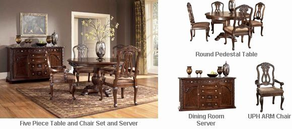 Grand Furniture Living Room Sets Awesome Ashley North Shore Round Dining Room Pedestal Table Set A Deep