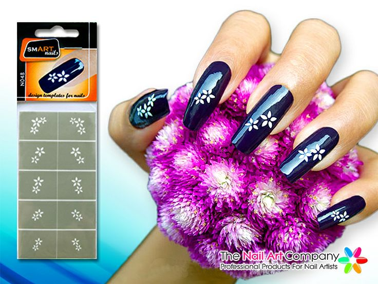 67 best smart nails nail art stencils images on pinterest nail the nail art company smart nails bouquet nail art stencil set n048 prinsesfo Images