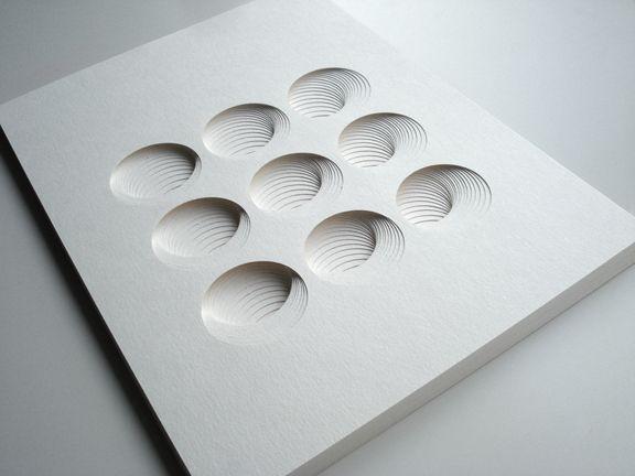 Paper Sculptures by Matt Shlian / design