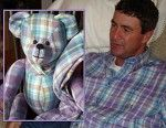 One of my favorite #MemorialGiftIdeas.  Creating a teddy bear from a loved one's clothing!