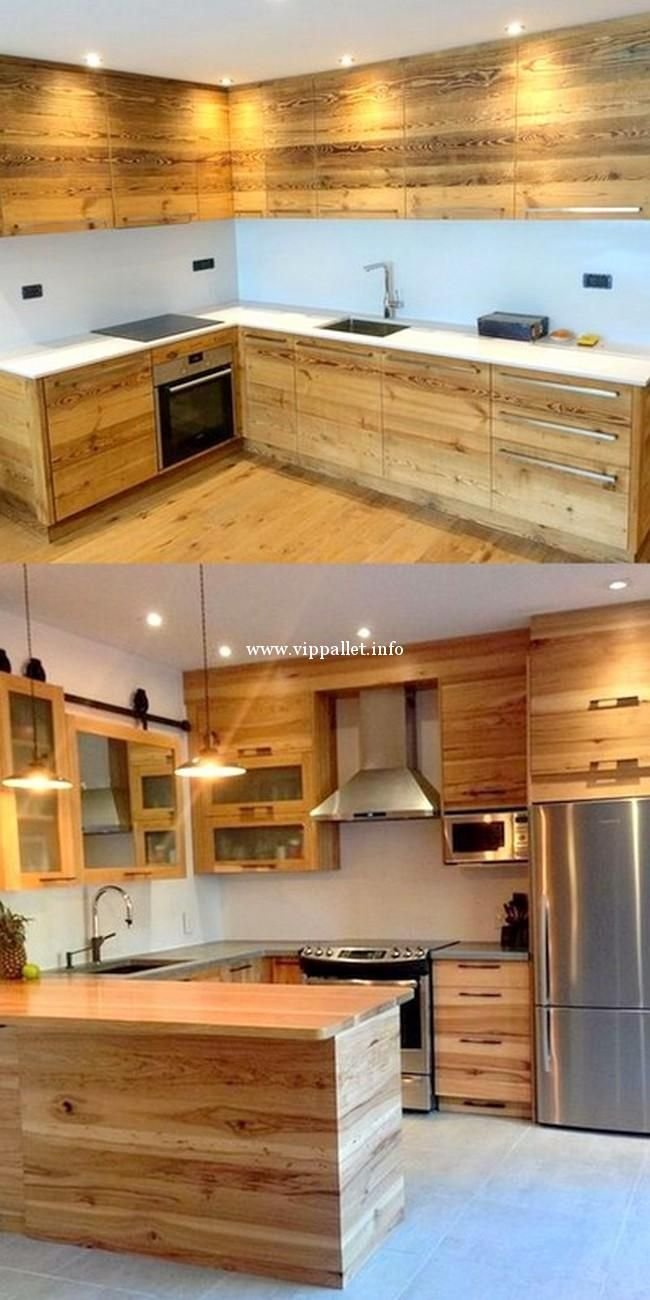 150 Amazing Wooden Pallet Furniture For New Year Vippallet Pallet Patio Furniture Wooden Pallet Furniture Pallet Kitchen Cabinets