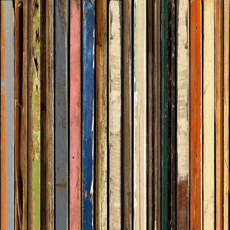 Scrapwood Wallpaper by Piet Hein Eek
