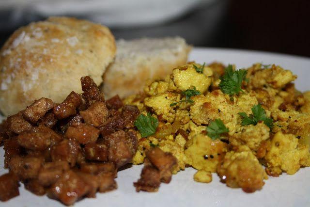 Veganeren: Helgefrokost - veggerøre, facon og nybakte focaccia-rundstykker
