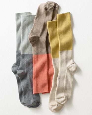 colour block, pallet, design, socks, soft colours, winter, msustard, grey, blue, coral, peach