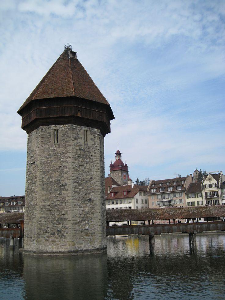 Башня Вассертум - визитная карточка Люцерна
