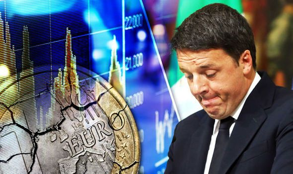 Renzis doomed Italy referendum plunges EU into crisis as euro plummets to 20-MONTH LOW
