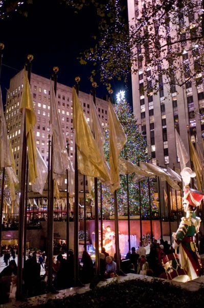 Christmas in Rockefeller Center, NYC by Megan Daniels