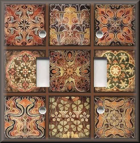 Tuscan Tile Mosaic Patchwork
