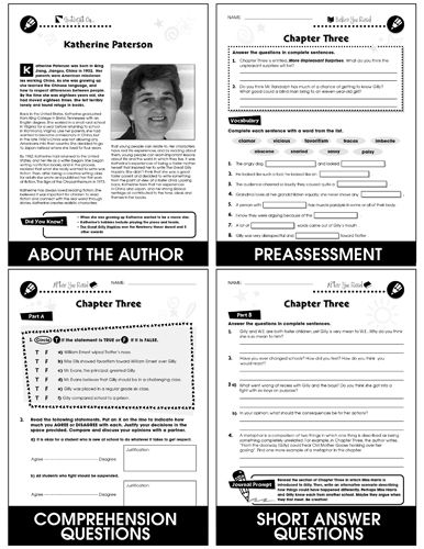 114 best novel study guides images on pinterest close reading the great gilly hopkins novel study guide in this literature kit we divide fandeluxe Images