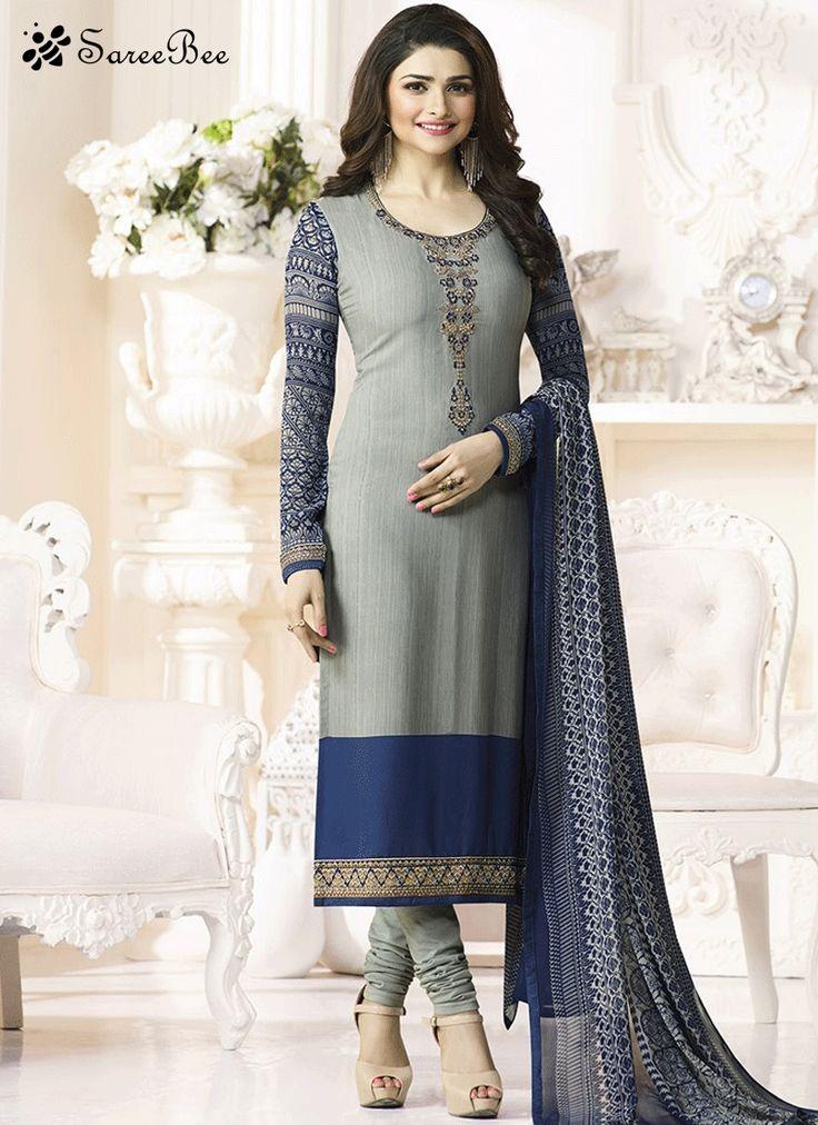 Prachi Desai Faux Crepe Grey Suit  For More Information WhatsApp 7202080091 Or Visit www.SareeBe.com  #red  #designer  #instagram  #kurti  #fashionista  #makeup  #delhi  #outfitoftheday  #women-fashion  #myfirststory  #model  #indian  #saree  #ramadanmubarak  #trendy  #ethnic  #picoftheday  #menonroposo  #roposolove  #cool  #firstpost  #soroposo  #summer-style  #streetstyle  #summer  #newdp  #beauty  #traveldiaries  #styles  #youtuber  #bestSeller  #prachidesai  #bollywoodSalwarsuit