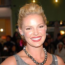 Katherine Heigl with Tahitian pearls - just gorgeous!