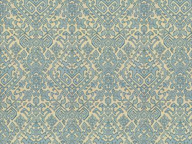 sherrill geometric blueblack eureka blue