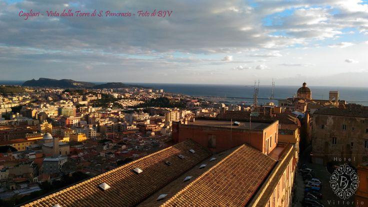www.hotelbjvittoria.it #cagliari #sardinia #italy #vista #view #torresanpancrazio #monument #city #love #città #poetto #beach #stupenda #