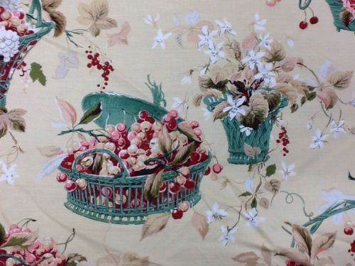colefax and fowler curtain fabric chelwood 4 metre piece