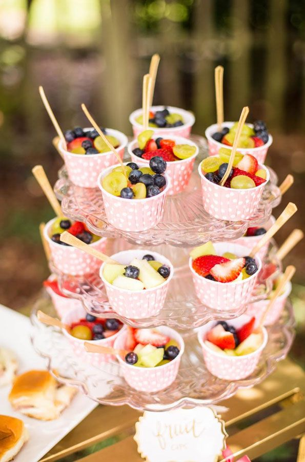 Evite Glittery Birthday Bash fruit